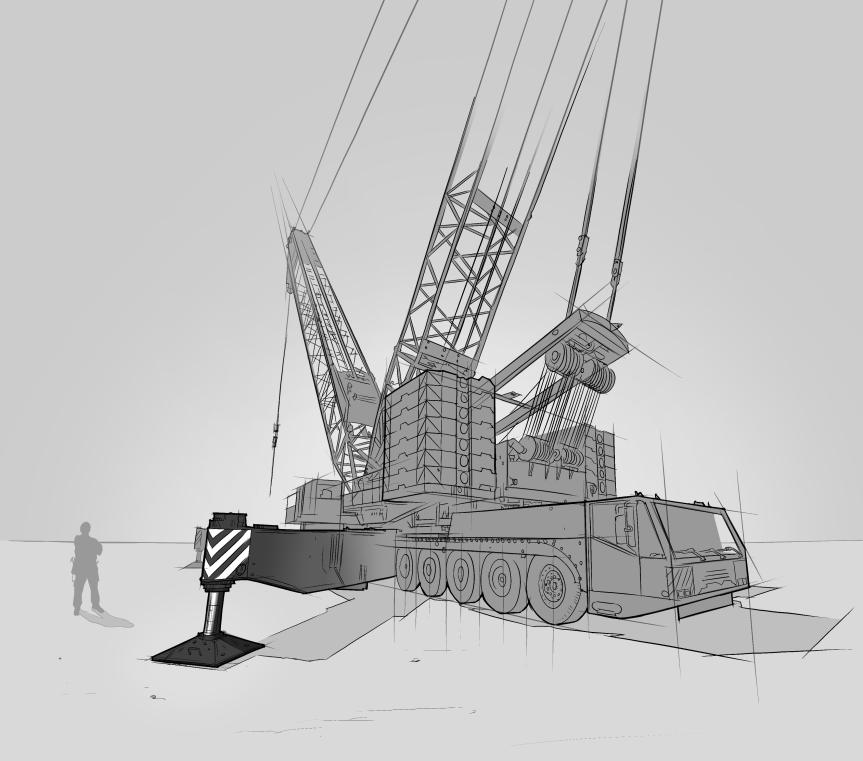 Mobiler Krankwagen